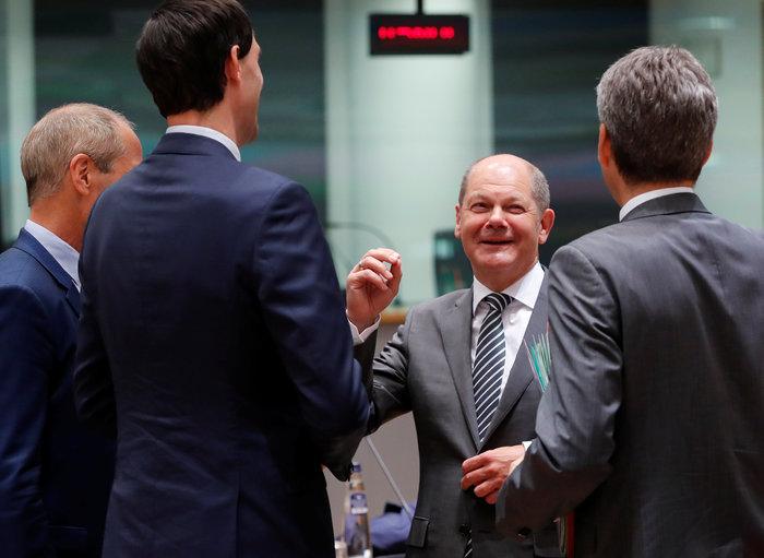 """Το """"μανιφέστο"""" Σολτς για το ρόλο της Γερμανίας στην Ευρώπη"""