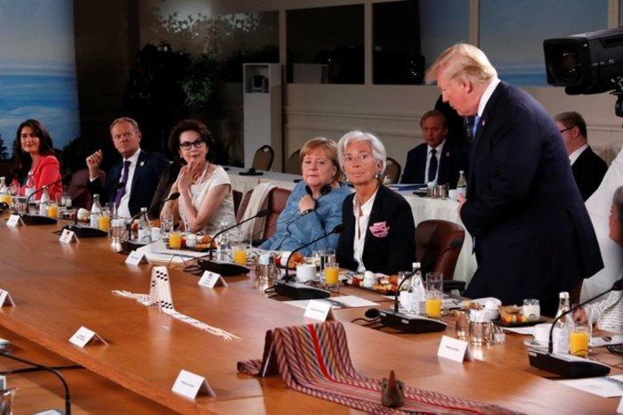 «Πόλεμος» Ευρώπης-ΗΠΑ για τους δασμούς, φιάσκο στη G7