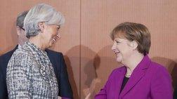 Συνάντηση Μέρκελ-Λαγκάρντ στο Βερολίνο για το ελληνικό χρέος