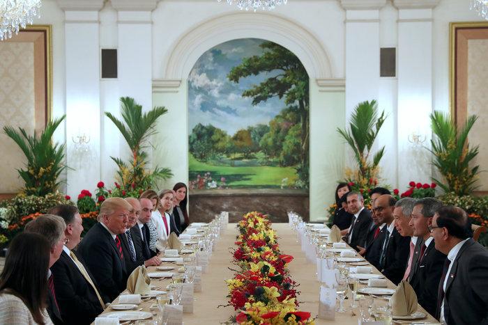 Στη Σιγκαπούρη Τραμπ και Κιμ: Ολα έτοιμα για την συνάντηση - εικόνα 6
