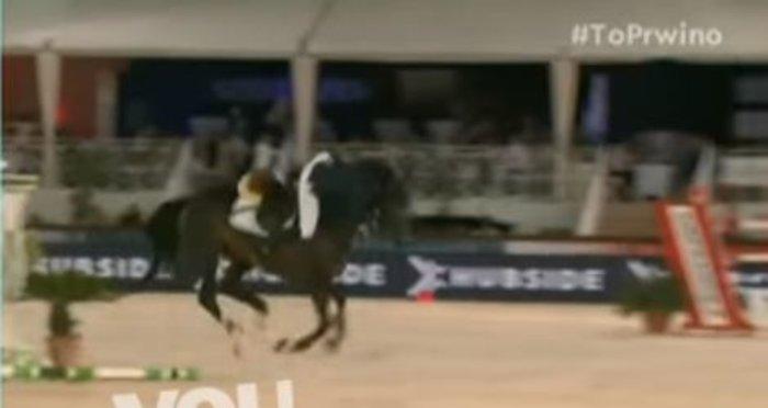 Αθηνά Ωνάση: Η άσχημη πτώση της από το άλογο σε ιππικούς αγώνες [Βίντεο] - εικόνα 2