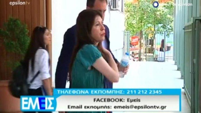 Ράκος η Άβα Γαλανοπούλου στο δικαστήριο κατά του πρώην συντρόφου της