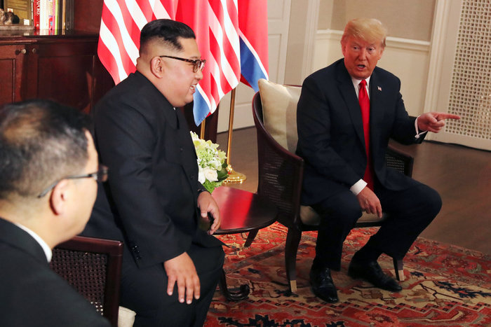 Κοινή δήλωση υπέγραψαν Τραμπ και Κιμ μετά την ιστορική σύνοδο - εικόνα 7