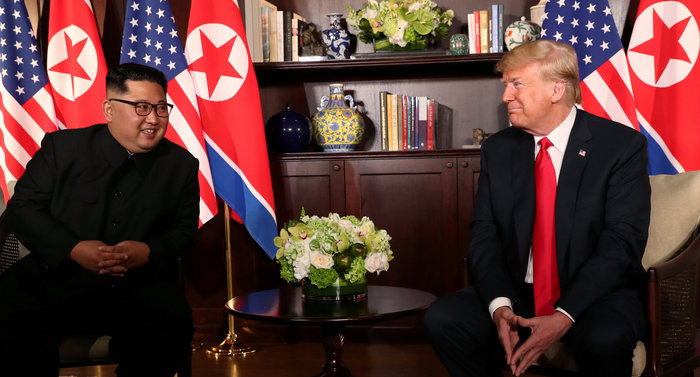 Κοινή δήλωση υπέγραψαν Τραμπ και Κιμ μετά την ιστορική σύνοδο - εικόνα 11