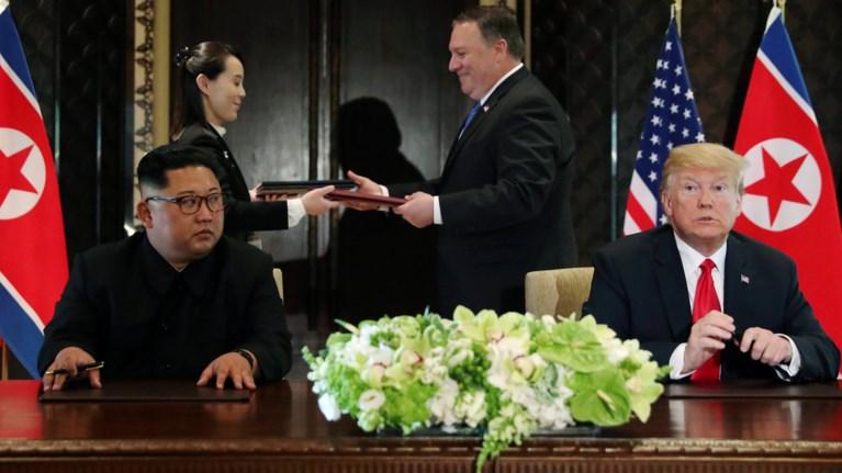 Ιστορική συμφωνία Τραμπ-Κιμ για την αποπυρηνικοποίηση της Β. Κορέας ... fadfcff6916