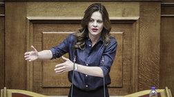 Βουλή: Καμία αναφορά από την Έφη Αχτσιόγλου στις περικοπές συντάξεων