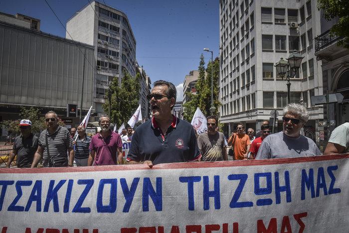 Συλλαλητήρια από ΠΑΜΕ, ΑΔΕΔΥ και σωματεία για το Πολυνομοσχέδιο - εικόνα 3