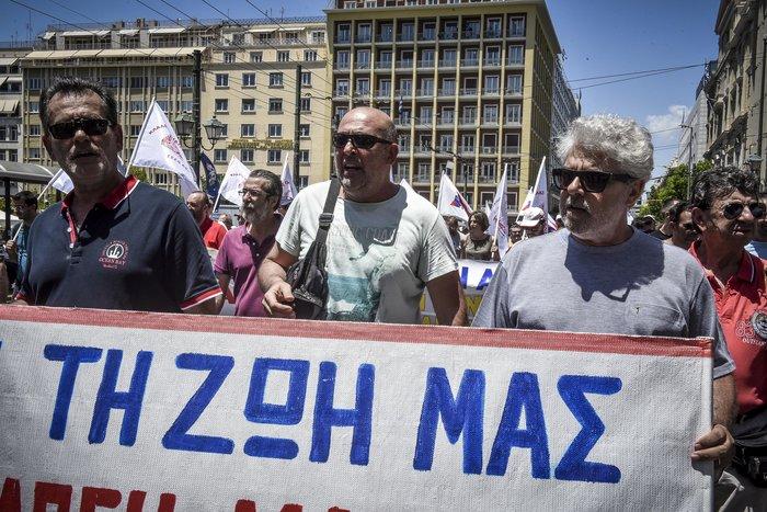 Συλλαλητήρια από ΠΑΜΕ, ΑΔΕΔΥ και σωματεία για το Πολυνομοσχέδιο - εικόνα 7