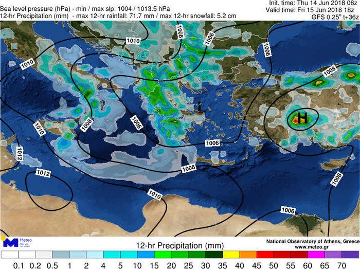Ισχυρή βροχόπτωση με χαλάζι πλήττει τη Θεσσαλονίκη ΕΙΚΟΝΕΣ