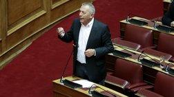 Παφίλης στη Βουλή: Μιλούν για πατρίδα οι απόγονοι των δοσίλογων