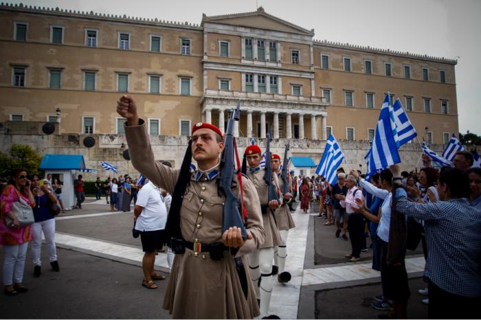 Σε εξέλιξη το συλλαλητήριο για τη Μακεδονία στο Σύνταγμα - εικόνα 5