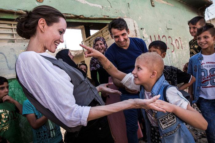 Η Αντζελίνα Τζολί στη βομβαρδισμένη Μοσούλη - εικόνα 2