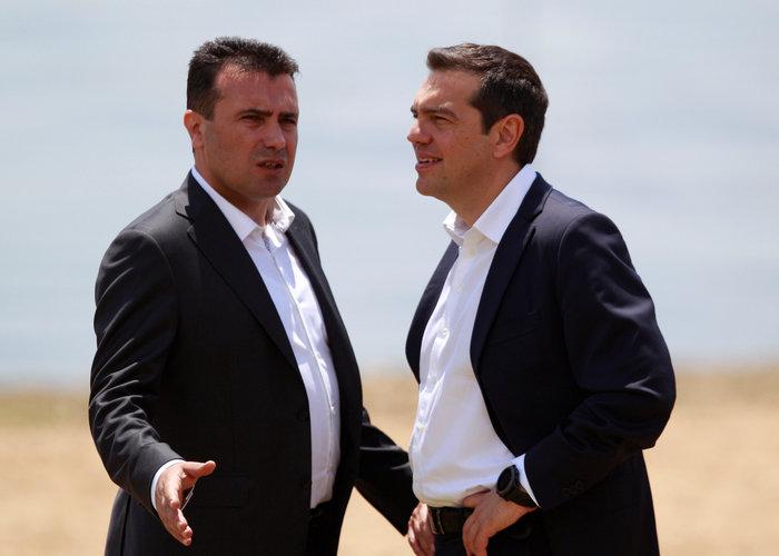 Αλέξης Τσίπρας, ο πρώτος Έλληνας πρωθυπουργός που επισκέφθηκε την πΓΔΜ