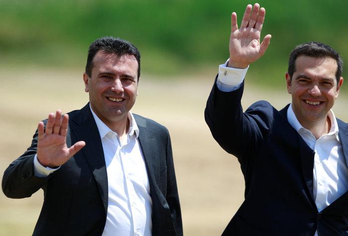 Αλέξης Τσίπρας, ο πρώτος Έλληνας πρωθυπουργός που επισκέφθηκε την πΓΔΜ - εικόνα 2