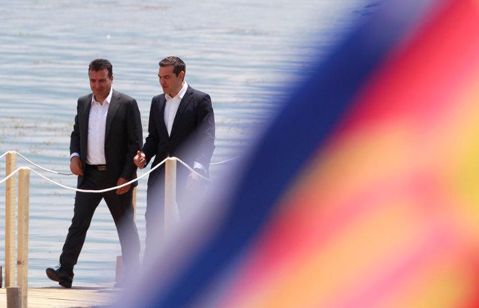 Αλέξης Τσίπρας, ο πρώτος Έλληνας πρωθυπουργός που επισκέφθηκε την πΓΔΜ - εικόνα 3