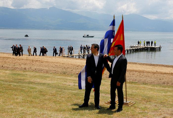 Αλέξης Τσίπρας, ο πρώτος Έλληνας πρωθυπουργός που επισκέφθηκε την πΓΔΜ - εικόνα 5