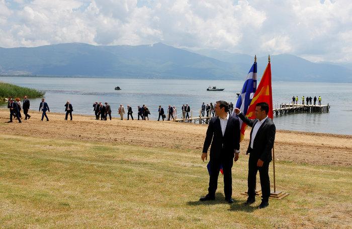 Αλέξης Τσίπρας, ο πρώτος Έλληνας πρωθυπουργός που επισκέφθηκε την πΓΔΜ - εικόνα 6
