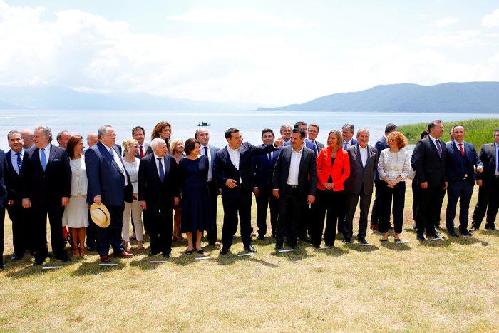Αλέξης Τσίπρας, ο πρώτος Έλληνας πρωθυπουργός που επισκέφθηκε την πΓΔΜ - εικόνα 8