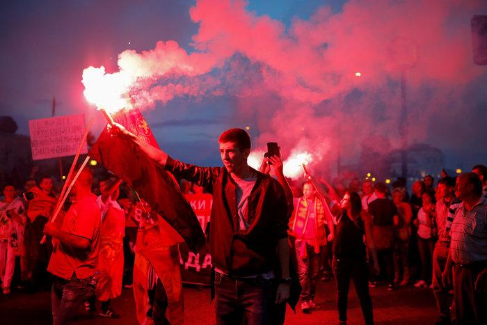 ΠΓΔΜ: Διαδηλώσεις των εθνικιστών του VMRO κατά της συμφωνίας