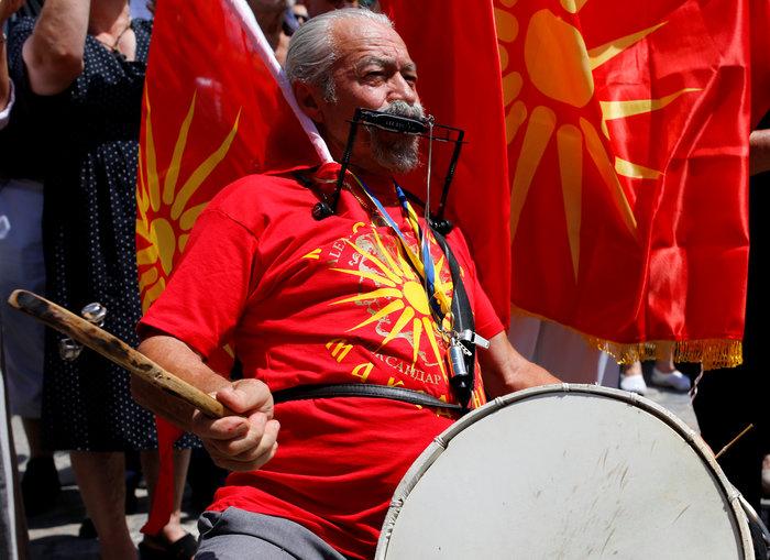 ΠΓΔΜ: Διαδηλώσεις των εθνικιστών του VMRO κατά της συμφωνίας - εικόνα 3