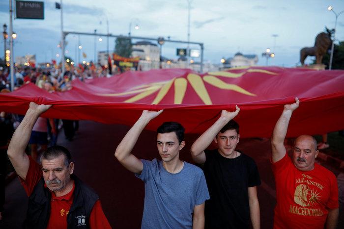 ΠΓΔΜ: Διαδηλώσεις των εθνικιστών του VMRO κατά της συμφωνίας - εικόνα 2