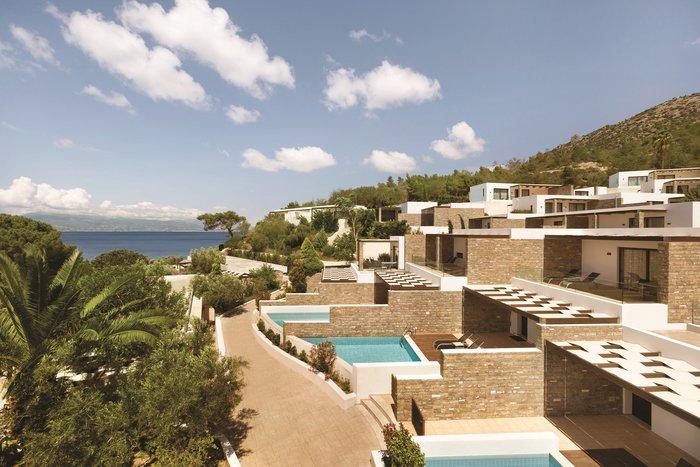 Οι private pool suites στο Wyndham Loutraki Poseidon Resort