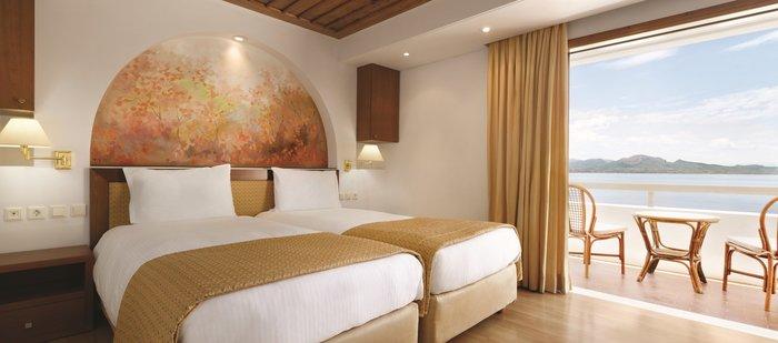 Υπέροχη θέα από το δωμάτιο του Ramada Loutraki Poseidon Resort