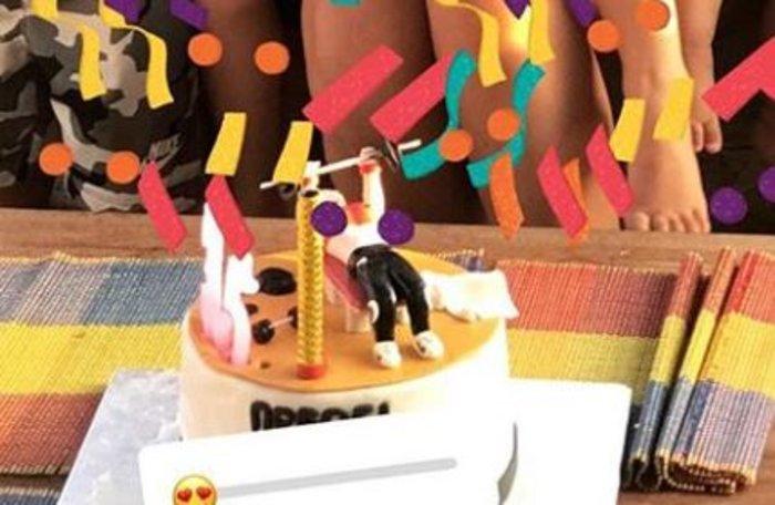 Η τούρτα της Χοψονίδου με τα βάρη της οικογένειας & τα πανέμορφα παιδιά της - εικόνα 4