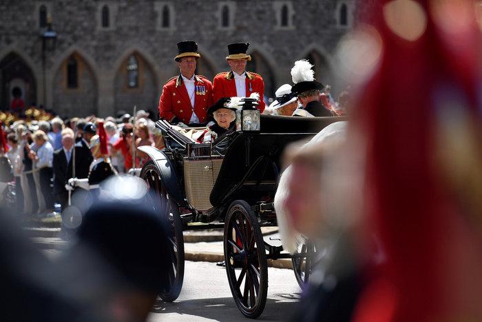 Η βασίλισσα Ελισάβετ γιόρτασε τα 700 χρόνια του Τάγματος της Περικνημίδας