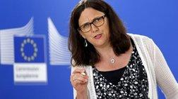 Σε εφαρμογή τα αντίποινα της ΕΕ για τους δασμούς Τραμπ
