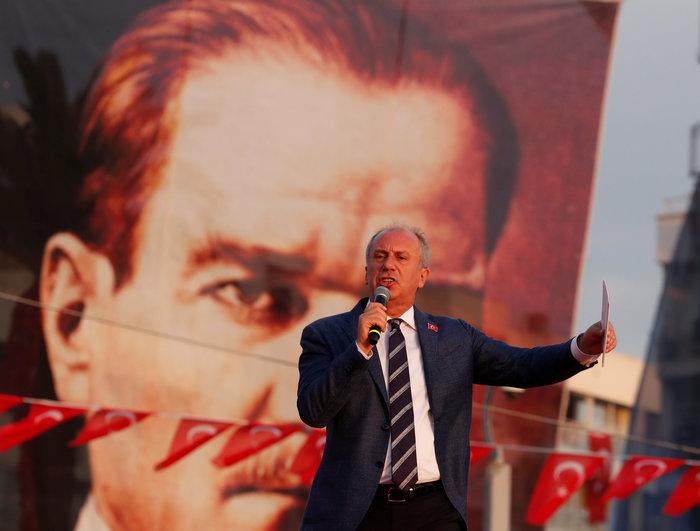 Μεγαλειώδης προεκλογική συγκέντρωση του Μουχαρέμ Ιντσέ στη Σμύρνη - εικόνα 3