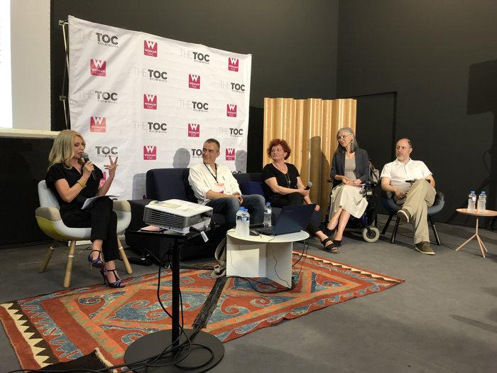 Ολα όσα έγιναν στο talk powered by The TOC της Art Athina