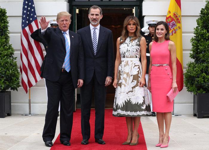 Εμπλοκή στον Λευκό Οίκο:Η Λετίσια & το φόρεμα που «έκλεψε» από τη Μελάνια
