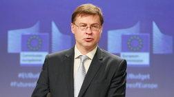 Ντομπρόφσκις: «Ιστορική» στιγμή για την Ελλάδα η απόφαση