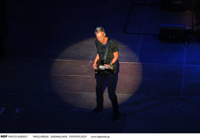 To απολαυστικό σόου του Στινγκ μάγεψε τους θεατές στο Ηρώδειο - εικόνα 3