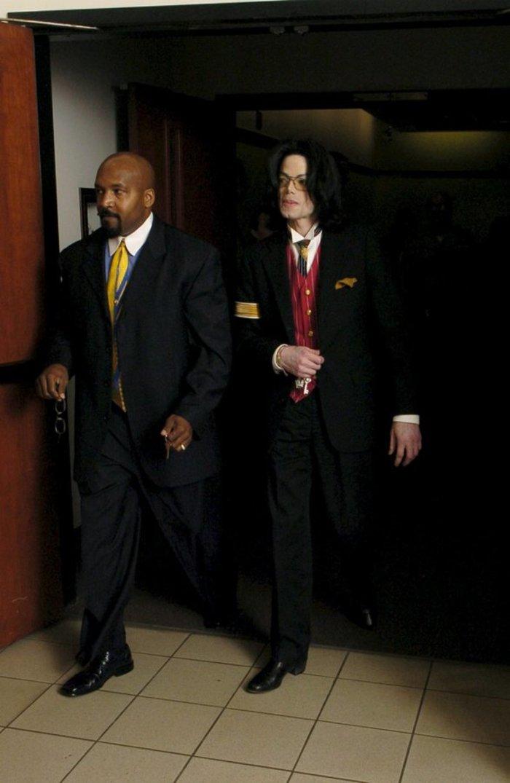 Σε μια από τις εμφανίσεις του στο δικαστήριο