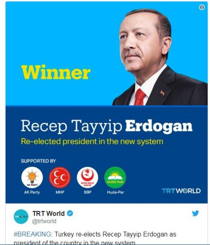 Παντοδύναμος ο Ερντογάν,  νίκη από τον α' γύρο στις προεδρικές - εικόνα 3