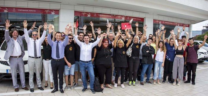 Οι νικητές του GENERATION N παρέλαβαν τα ολοκαίνουργια Nissan Juke τους