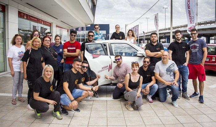 Οι νικητές του GENERATION N παρέλαβαν τα ολοκαίνουργια Nissan Juke τους - εικόνα 4