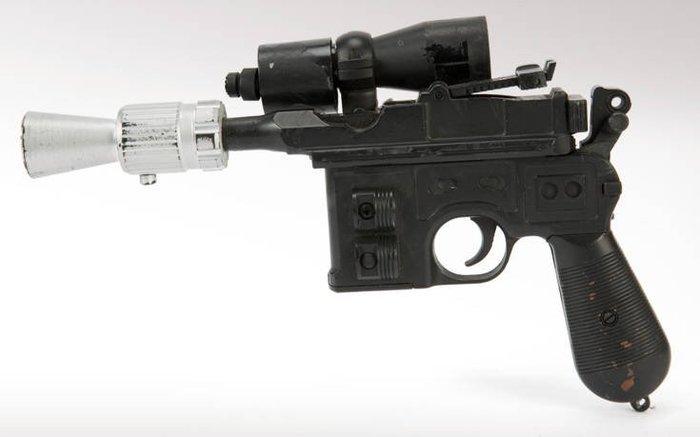550.000 δολάρια για ένα πιστόλι του Χαν Σόλο!