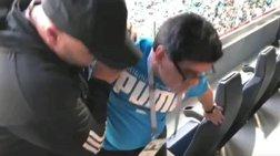 Η θλιβερή εικόνα του Ντιέγκο: Έφυγε υποβασταζόμενος από το γήπεδο