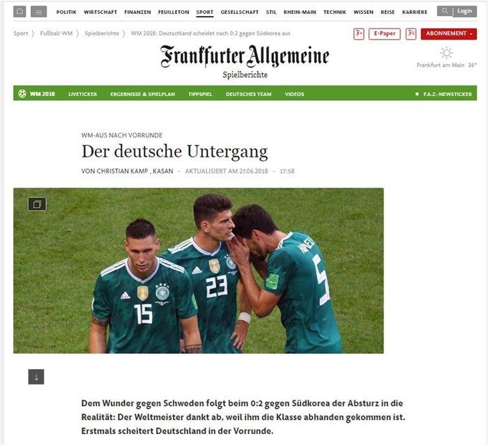 Γερμανικά ΜΜΕ: «Το γερμανικό ναυάγιο και η εθνική ντροπή»