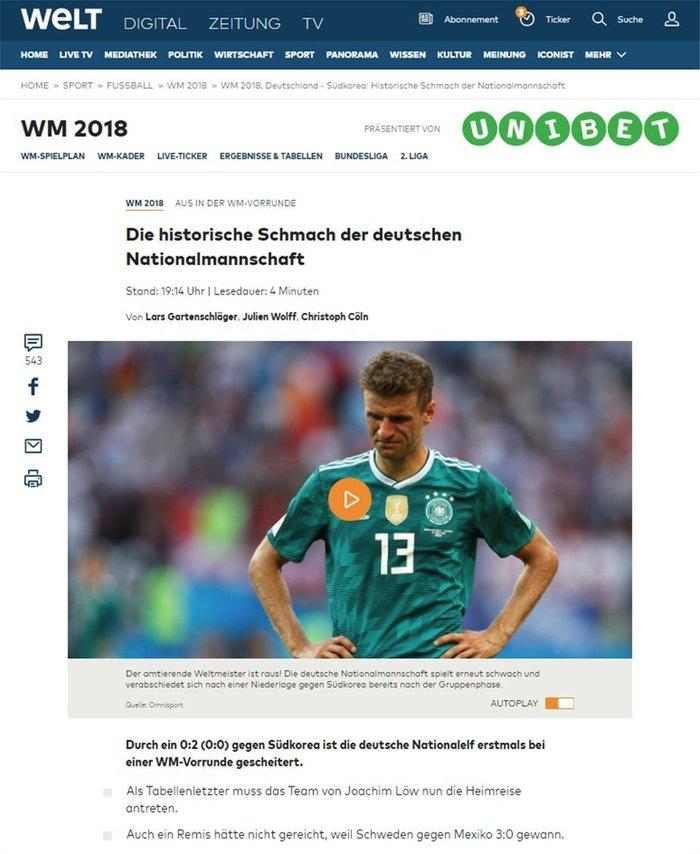Γερμανικά ΜΜΕ: «Το γερμανικό ναυάγιο και η εθνική ντροπή» - εικόνα 2