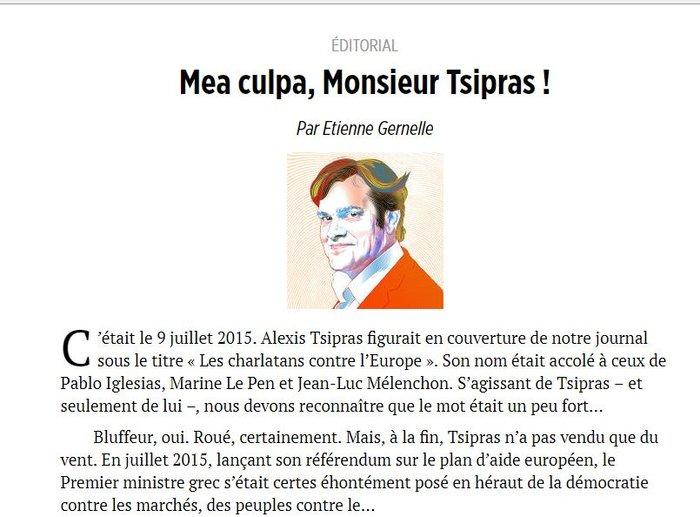 Le Point: «Αλέξης Τσίπρας: κανείς δεν το πίστευε» - εικόνα 2
