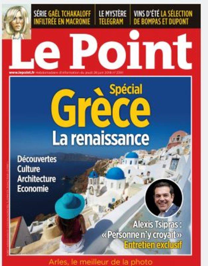 Le Point: «Αλέξης Τσίπρας: κανείς δεν το πίστευε»