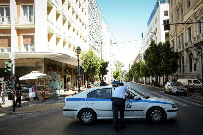 Φάρσα το τηλεφώνημα για βόμβα στο υπουργείο Εσωτερικών