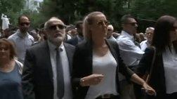 """Αποδοκιμασία Κουρουμπλή στις Σέρρες για το """"Μακεδονικό"""""""