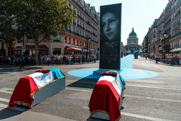 Γαλλία: Η χώρα τιμά την Σιμόν Βέιλ στο Πάνθεον των Παρισίων - εικόνα 4