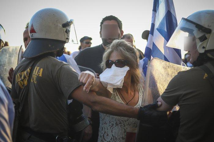 Επεισόδια σε Αθήνα και Θεσσαλονίκη για το «Μακεδονικό»-Βίντεο - εικόνα 4
