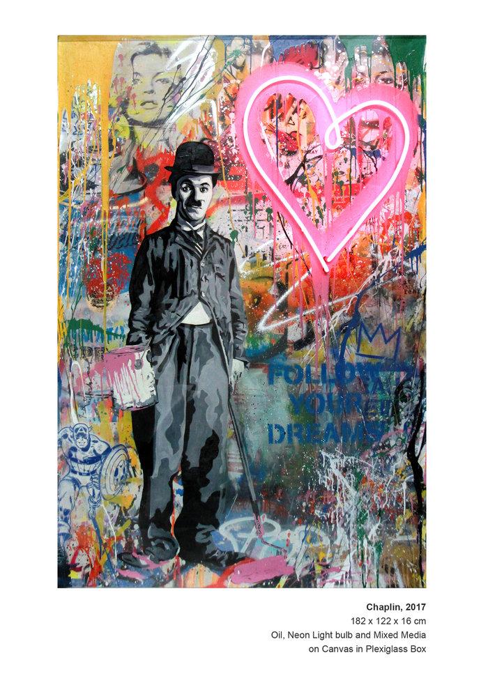 Ο προκλητικός street art καλλιτέχνης Mr. Brainwash εκθέτει στη Μύκονο